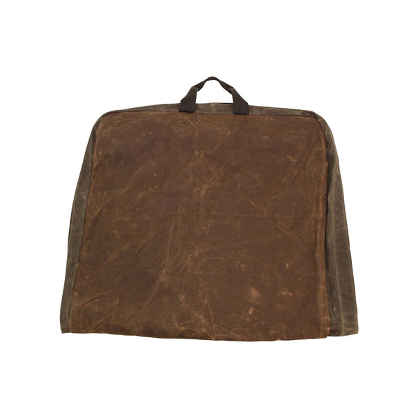 Waxed Canvas Garment Bag