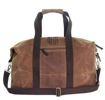 Waxed Canvas Weekender Khaki
