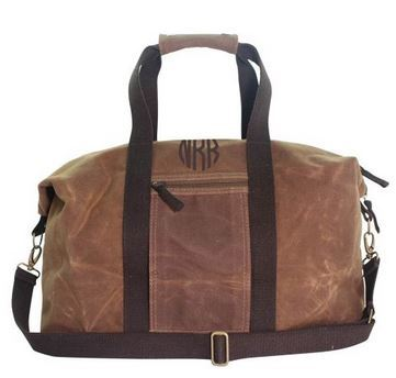 Waxed Canvas Weekend Duffle