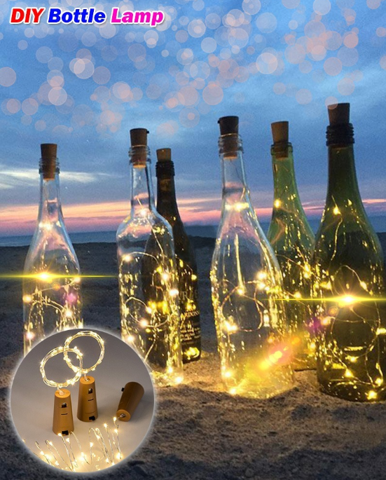 $3.99 ONLY FOR TODAY🔥Bottle Lights-Last day promotion