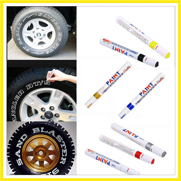 Waterproof tire paint pen-GET 5 FREE 6(Total 11)