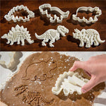 33% OFF Today-Dinosaur Cookie Cutters Stampers Emboss