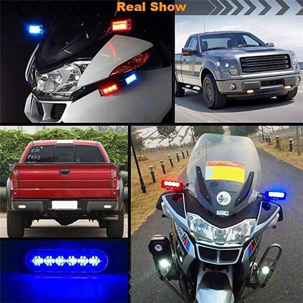 6LEDs Warning Emergency Strobe Light
