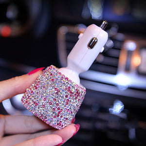 30% OFF Today-Diamond Car Charger