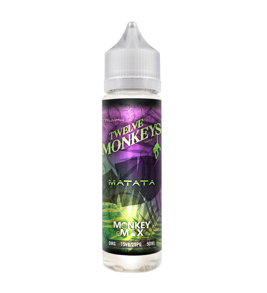 Twelve Monkeys Matata 50ML 0MG