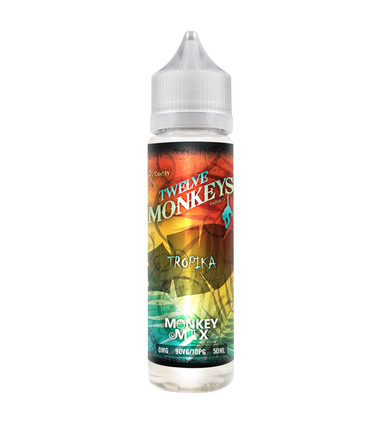 Twelve Monkeys Tropika 50ML 0MG