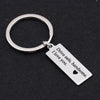 TINY KC1033 - DRIVE SAFE HANDSOME KEYCHAIN