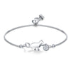 TINY BL9197 - To My Wife - I never want to lose you - Cat Bracelet