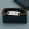 TINY BL9046 - Firefighter - Drive safe, handsome. I love you. - Bracelet