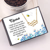 TINY NL3206 - To My Girlfriend - I hope you know that - Beehive Necklaces