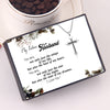 TINY NL3213 - My Future Husband - You are, not only just the wings of my life - Cross Necklace