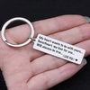 TINY KC1068 - My heart wants to be with yours... - Keychain