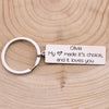 TINY KC1275 - To My Future Wife - My heart made it's choice, and it loves you - Keychain