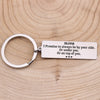 TINY KC1255 - To My Girlfriend - I Promise to always be by your side - Keychain