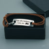 TINY BL9051 - Ride safe, handsome. I love you! - Bracelet