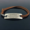 TINY BL9030 - TO THE BEST GIRLFRIEND IN THE WORLD - From the bottom of my heart - Bracelet