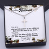 TINY NL3170 - My Future Husband - You are, not just the father of my children - Cross Necklace