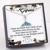 TINY NL3184 - To My Girlfriend - Even when we are apart - Fish Tail Necklace