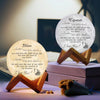 TINY ML19018 - To My Girlfriend - You are, not only just the light of my life - Moon Lamp