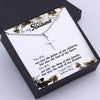 TINY NL3169 - To My Husband - You are, not just the father of my children - Cross Necklace