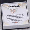 TINY NL3264 - To My Future Wife - But if you were a tear in my eye - Heart Necklace