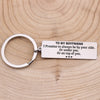 TINY KC1256 - To My Boyfriend - I Promise to always be by your side - Keychain