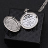 TINY ELN13004 - To My Boyfriend - Thank you for bringing joy to my heart - Engraved Locket Necklace