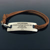 TINY BL9126 - To My Boyfriend - I Promise to always be by your side - Bracelet