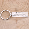 TINY KC1236 - To My Dad - Let me come in to your heart - Keychain