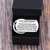 TINY KC1248 - To My Future Husband - My love for you is never ending... - DOG TAG KEYCHAIN