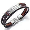 TINY BL9161 - To My Girlfriend - My heart made it's choice, and it loves you - Bracelet