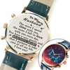 TINY LW15037 - To My Husband - The more I spend time with you, the more I fall in love with you every day - Luxury Watch