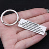 TINY KC1015 - To My Husband - I may not say it enough,....  - keychain