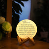 TINY ML19013 - To My Husband - This is from my heart - Moon Lamp