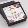TINY NL3095 - TO MY MOM - I want you to know, you are the best... - INFINITY HEART NECKLACE