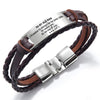 TINY BL9152 - To My Old Man - I Promise to always be by your side - Bracelet