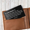 "TINY CA5019 - TO MY PARTNER - ""You are the most important part of my life"" - WALLET CARD -"