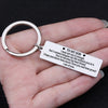 TINY KC1019 - To My Son - I may not say it enough,...  - keychain