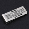 TINY MC7004 - To My Wife - To thank you for everything you have done for me - Money Clip