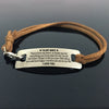 TINY BL9004 - To My Wife - To thank you for everything you have done for me -  Bracelet