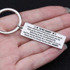 TINY KC1131 - TO MY DADDY - I have allowed to many years and too much time - KEYCHAIN