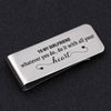 TINY MC7017 - To My Girlfriend - whatever you do, do it with all your heart - Money Clip