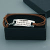 "TINY BL9077 - To My Girlfriend - I carry your heart ""I carry it in my heart"" - Bracelet"