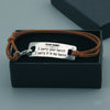 "TINY BL9075 - To My Hubby - I carry your heart ""I carry it in my heart"" - Bracelet"