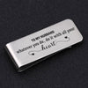 TINY MC7014 - To My Husband - whatever you do, do it with all your heart - Money Clip