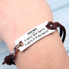 "TINY BL9074 - To My Wife - I carry your heart ""I carry it in my heart"" - Bracelet"