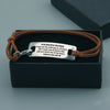 TINY BL9014 - To My Beautiful Girlfriend - you are never out of my heart - Bracelet