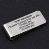 TINY MC7019 - To My Girlfriend - I Promise to always be by your side - Money Clip