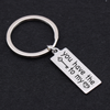 TINY KC1041 - You have the...to my...! new keychain
