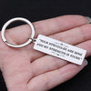 TINY KC1001 - Your struggles are mine my strength is yours - keychain